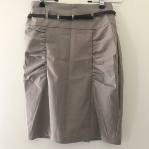 Skirt with Belt